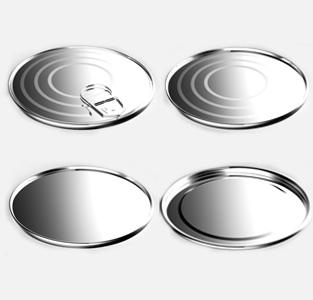 Lids for open-head food cans